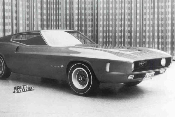 1971 Mustang proposal Jan 18 1968