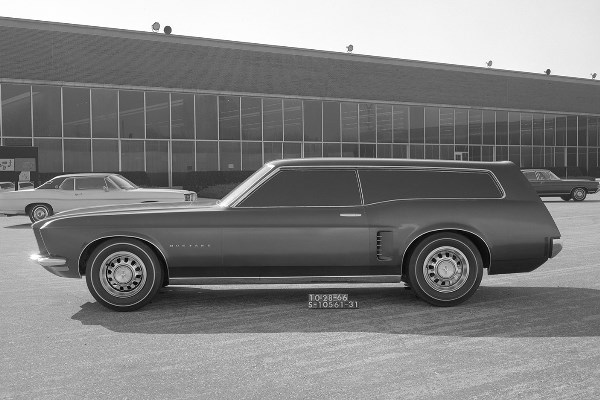 Ford Mustang Station Wagon concept 10-28-1966