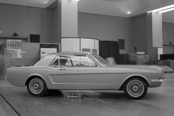 Ford Mustang proposal Dec 17 1962