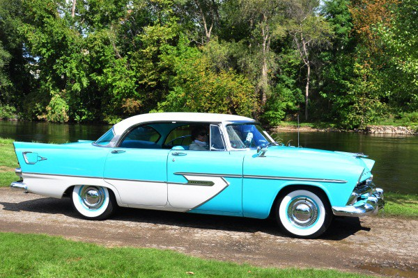 Fred and Carol Hoffman 1956 Plymouth Belvedere Sport Sedan