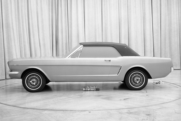 Mustang convertible proposal Oct 26 1962