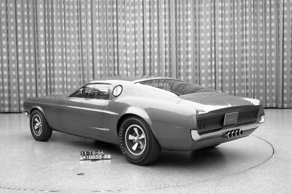 Mustang Mach 1 proposal Nov 18 1966
