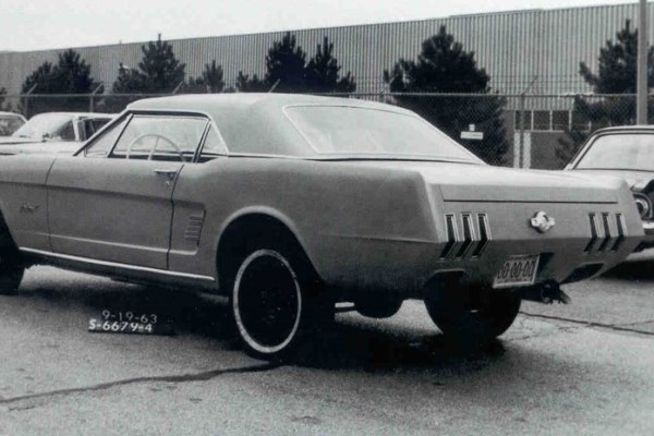 Mustang proposal Sept 19 1963