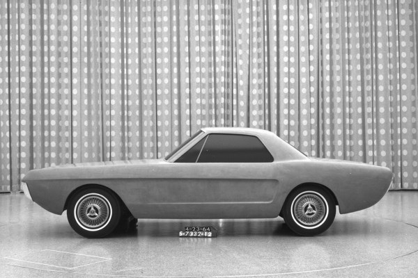 Mustang two-seater proposal April 21 1964