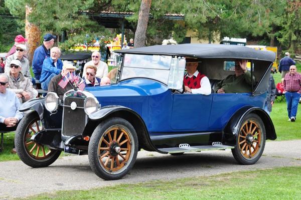 Steve Wild 1920 Liberty 10-C Touring