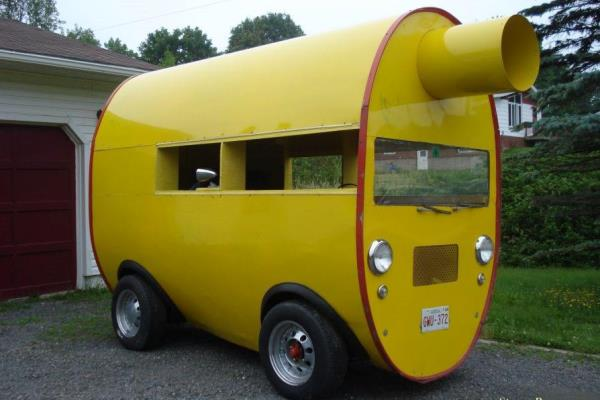 1948 Willys Mufflermobile