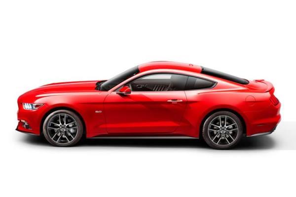 2015 Mustang left