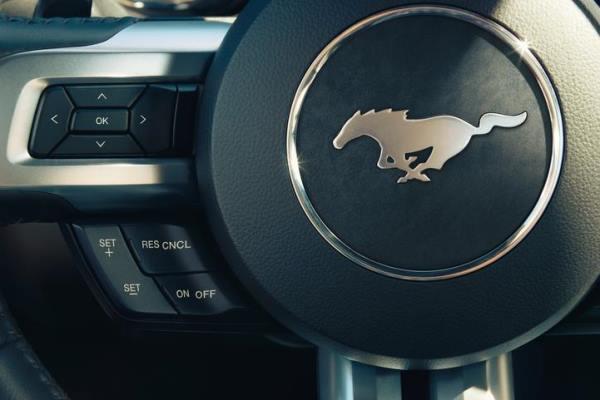 2015 Mustang steering wheel