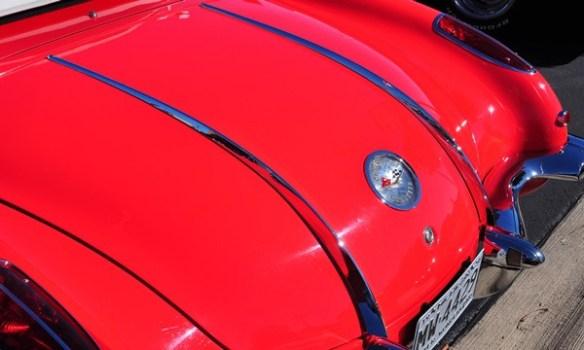 1958 Corvette deck strakes