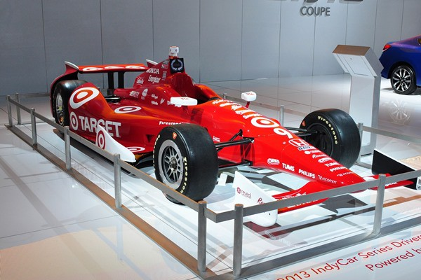 2013 Dallara Honda IndyCar Target livery