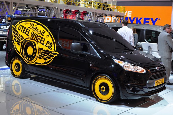 2014 Ford Transit Connect Concept by Mobsteel