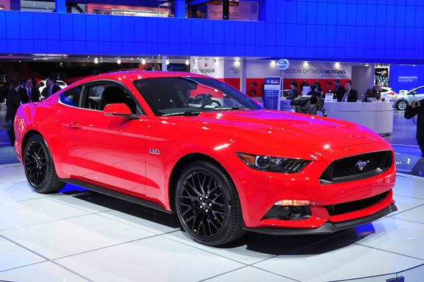 2015 Mustang GT coupe