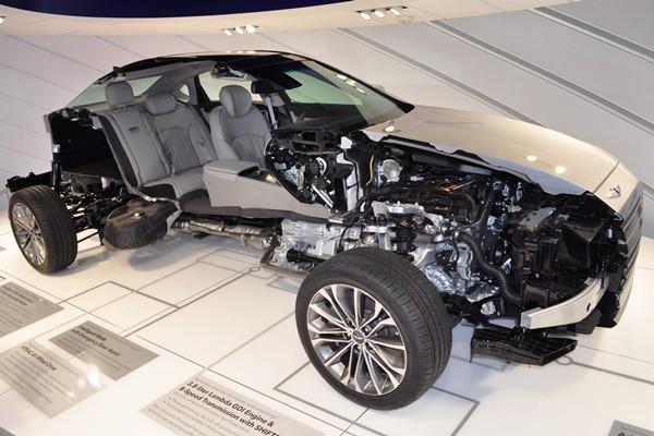 Hyundai sedan cutaway