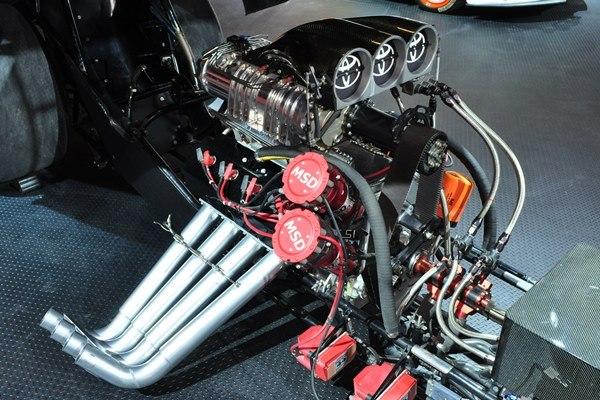 NHRA Funny Car engine