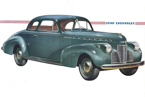 1940 Chevrolet Chevrolet Master 85 Business Coupe