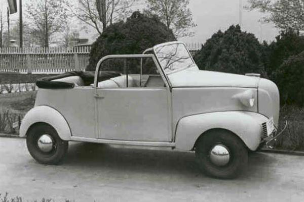 1940 Crosley Convertible Coupe