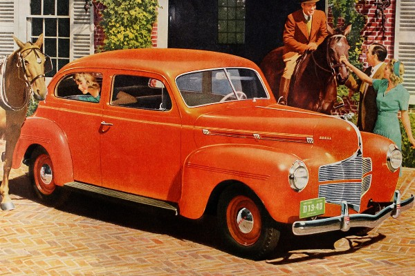 1940 Dodge Luxury Liner Special 2-door Sedan