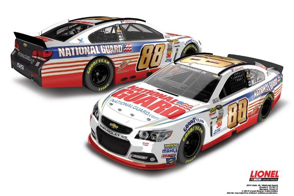 Dale Earnhardt Jr. 88 National Guard Chevrolet