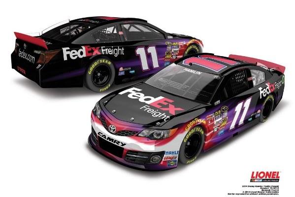 Denny Hamlin 11 FedEx Freight Toyota