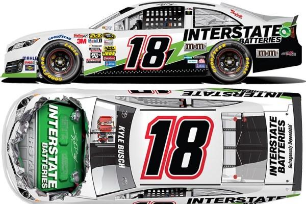 Kyle Busch 18 Interstate Toyota