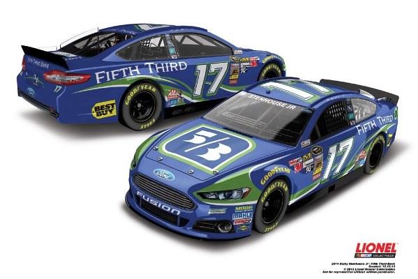 Ricky Stenhouse, Jr. 17 5-3 Ford