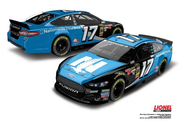 Ricky Stenhouse, Jr. 17 Nationwide Ford