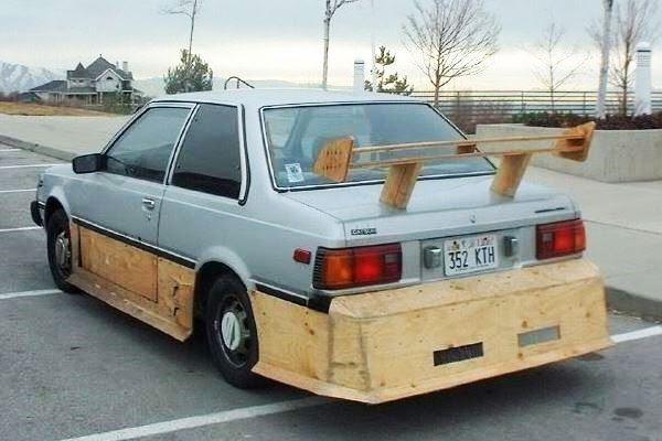 1983 Nissan Wood aero kit