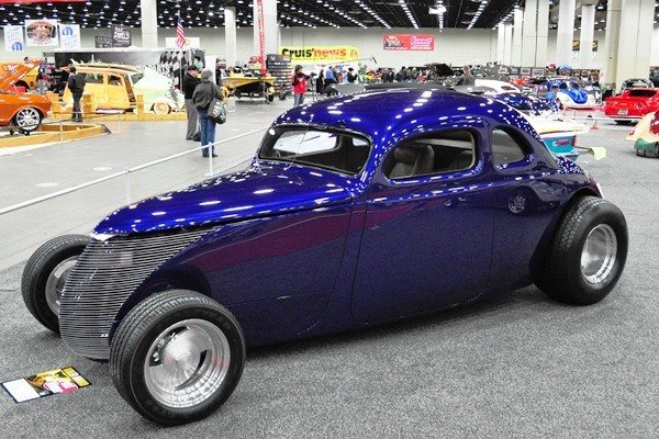1994 Fred Warren 1937 Ford Aero Coupe