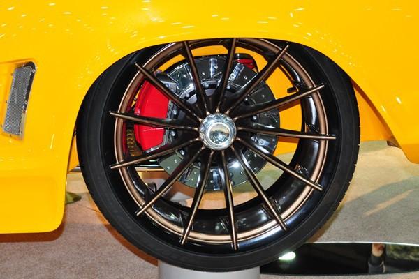 Left Rear Wheel