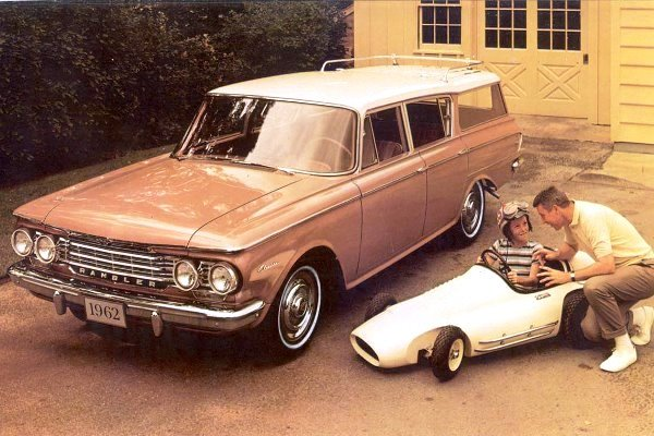 1962 AMC Rambler Classic 6 Cross Country Station Wagon
