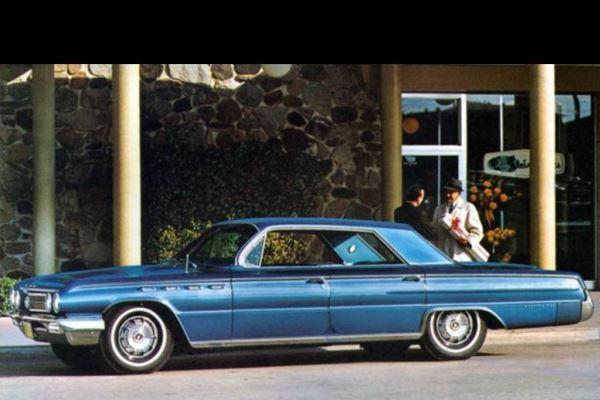1962 Buick Electra 225 four-door hardtop