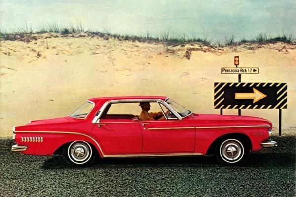 1962 Dodge Dart 440 four-door hardtop