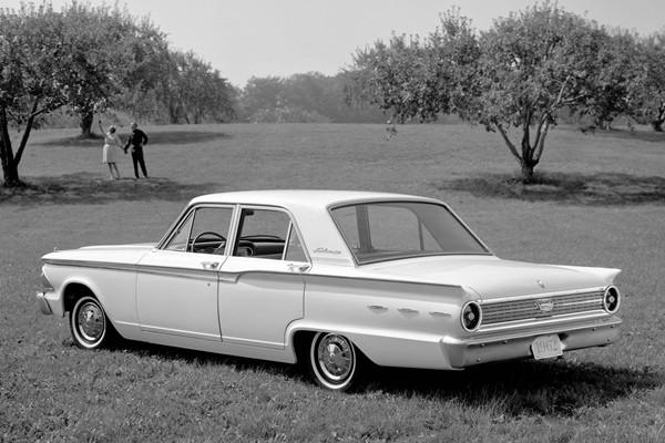 1962 Ford Fairlane 500 Town Sedan
