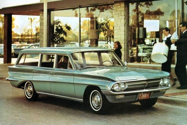 1962 Oldsmobile F85 De Luxe Station Wagon