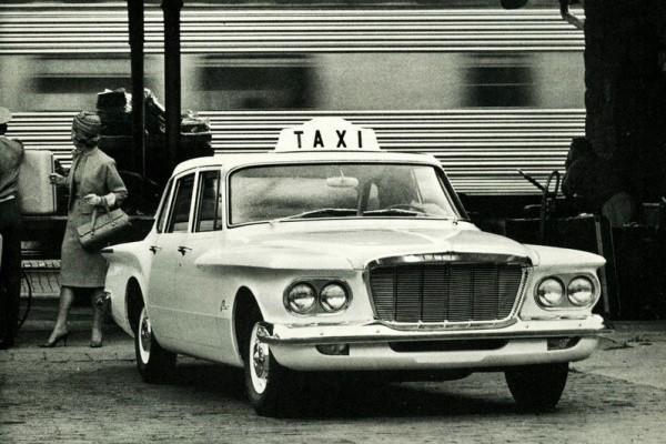 1962 Plymouth Valiant Taxi