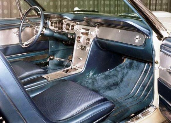 4 Edsel Ford Mustang dash