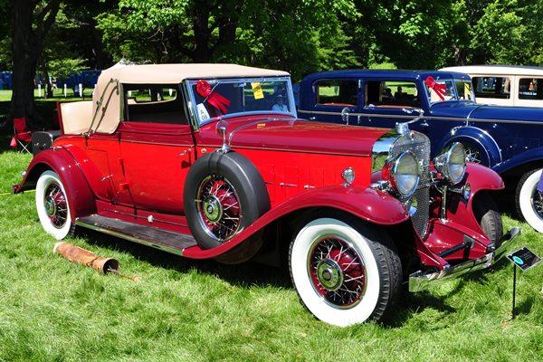 1931 Cadillac V-12 Convertible Coupe Marvin Tamaroff