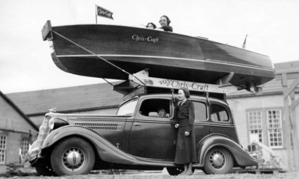 1935 Terraplane Chris-Craft