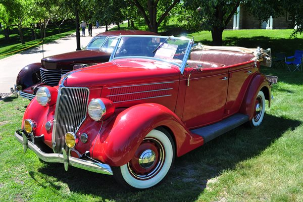 1936 Ford 68 Deluxe Phaeton Gerald Daugherty