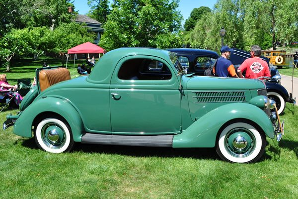 1936 Ford Deluxe Three-Window Coupe Danne Shosey
