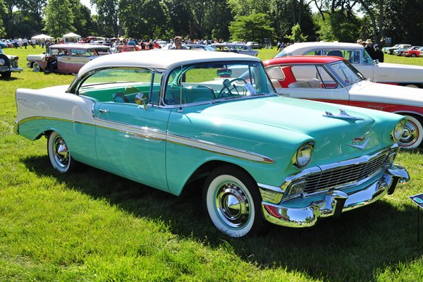 1956 Chevrolet Bel Air Sport Coupe Chuck and Carolyn Enderby