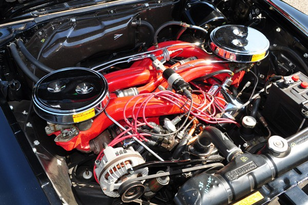 1961 Chrysler 300G engine Mark Davis