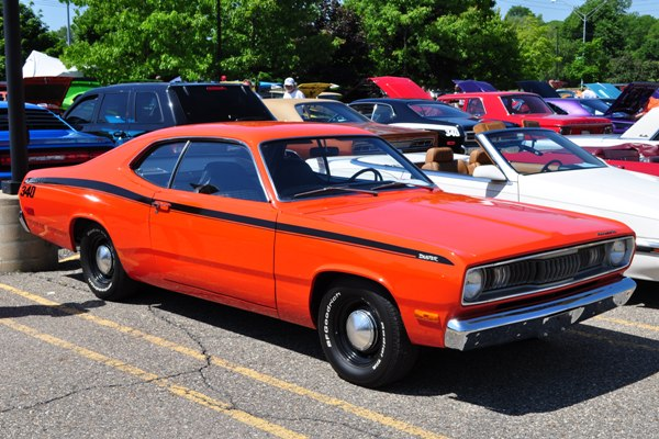 1972 Plymouth Duster Kevin Hagle
