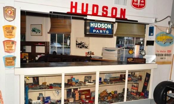 Hudson parts counter