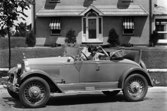 1927 Falcon-Knight Model 10 Gray Ghost Roadster left