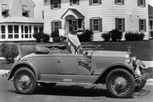 1927 Falcon-Knight Model 10 Gray Ghost Roadster