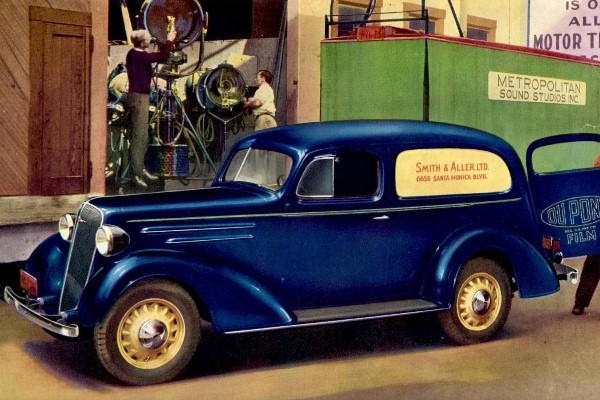 1936 Chevrolet Sedan Delivery