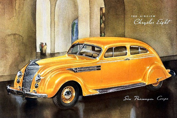 1936 Chrysler Airflow Eight Six-Passenger Coupe