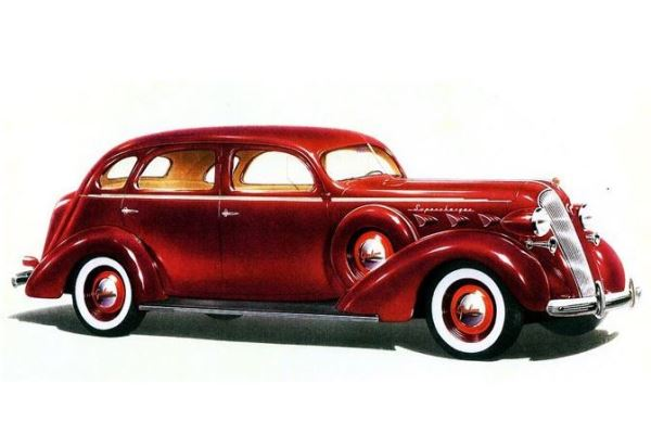 1936 Graham Custom Series 120 Supercharger Sedan