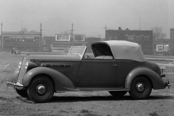1936 Packard 120 Convertible Victoria